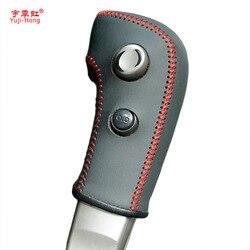 Yuji-Hong Bánh Bao Gồm Trường Hợp đối với Nissan Tiida 2005-2009 Tự Động Bánh Đai Da Chính Hãng Xe Tạo Kiểu Tay khâu Bìa