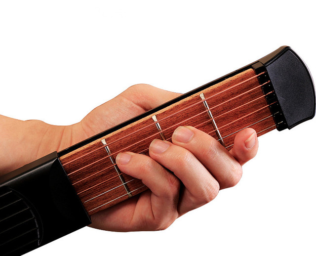 Pocket Guitar Portable Pocket Acoustic Guitar Practice Tool Gadget ...