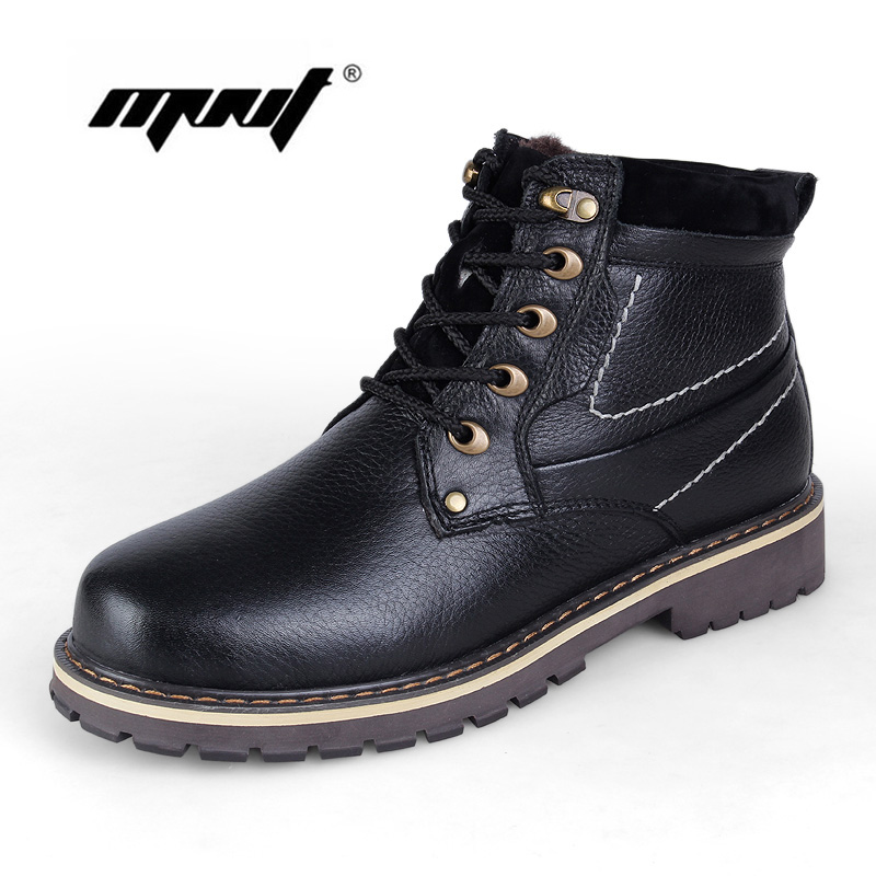 -40 C keep Warm Men Winter Boots Genuine Leather boots Russian Style Handmade Snow boots Outdoor Shoes Winter Fashion Men Shoes warmest genuine leather snow boots size 37 50 brand russian style men winter shoes 8815