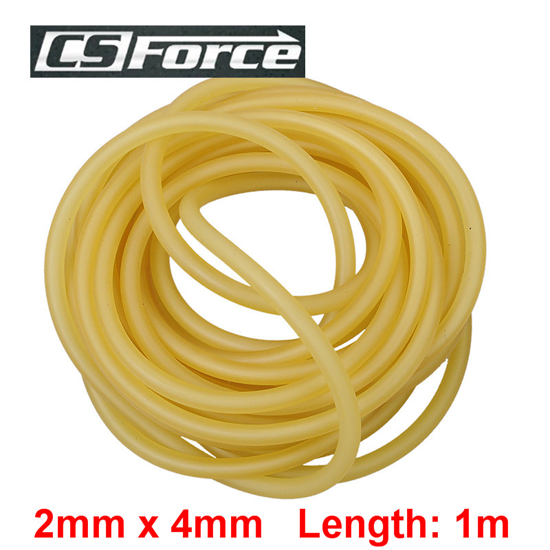 CS Force 2mm x 4mm Latex Slingshot for Hunting 1m Rubber Tube for Shooting Tubing Band Elastic Durable Latex Tubes Bands 2040CS Force 2mm x 4mm Latex Slingshot for Hunting 1m Rubber Tube for Shooting Tubing Band Elastic Durable Latex Tubes Bands 2040