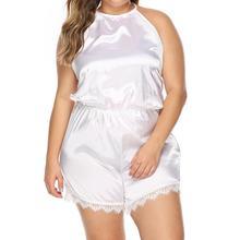 New Sleep Lounge Pajama Sexy Sleepwear Women Summer Fashion