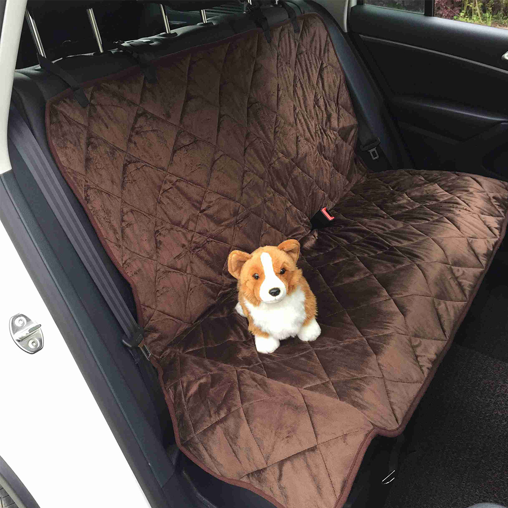 pet dog car rear back seat carrier cover pet cat mat hammock cushion protector in dog carriers. Black Bedroom Furniture Sets. Home Design Ideas