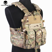 Emersongear Molle Tactical Vest Body armor Hunting plate Carrier Airsoft 094K M4 Pouch Emerson Combat Gear EM7356 Multicam