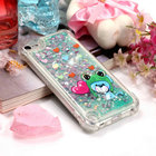 Bling Glitter Cover for Apple iPod Touch 6 Case Touch5 Cover Liquid Silicone Back cover for Coque IPOD Touch 5 Case Armor Touch6