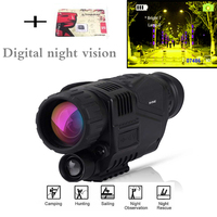 Monocular Night Vision Infrared Digital Scope For Hunting Telescope Long Range With Built In Camera Shoot