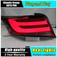 Car Styling LED Tail Lamp for Toyota Vois Taillights 2014 New Vois Rear Light DRL+Turn Signal+Brake+Reverse auto Accessories led
