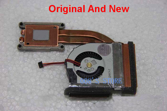 Original Laptop CPU GPU Cooling Fan And Heatsink Fit For Lenovo ThinkPad T420S T420 Integrated Graphics TOSHIBA 04W0416 M-232C-2