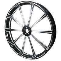 Motorcycle Motorbike 26 3.5 CNC Front Wheel Rim Dual Disc For Harley Touring Custom Baggers Dyna Softail Chopper Bikes