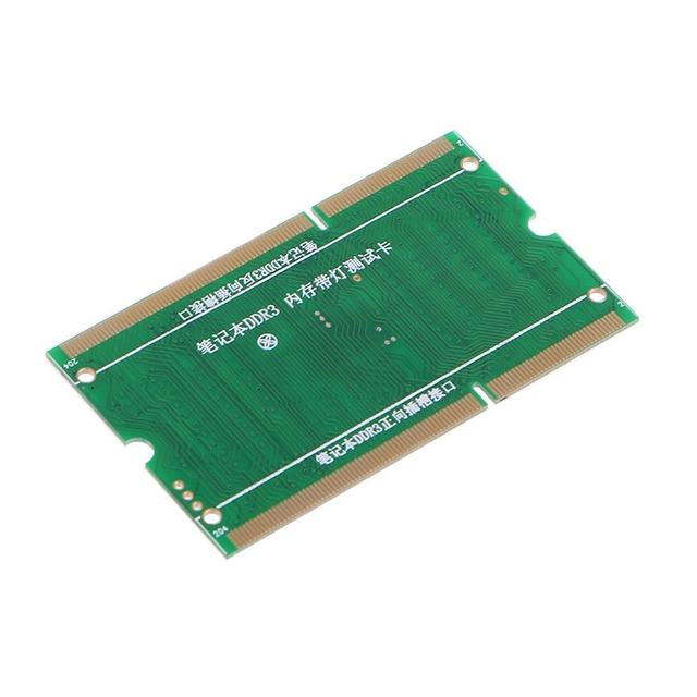 DDR3 Memory Slot Tester Card with LED Light for Laptop Motherboard Notebook 5
