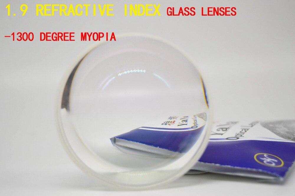 1.9 indice de réfraction nombre élevé lentilles personnalisées matériel est lunettes enduit asphérique-8.0-8.5-9.0-9.0 à-20