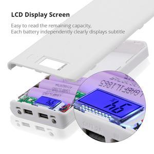 Image 3 - New DIY 8x18650 Portable Battery Power Bank Shell Case Box LCD Display Dual USB Powerbank Box KIT Powerbank 18650(No Battery)
