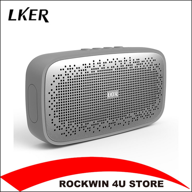 LKER Wireless Best Bluetooth Speaker IPX 7 Waterproof Portable Outdoor Mini Box Loudspeaker Speaker Design for iPhone Xiaomi original lker bluetooth speaker wireless stereo mini portable mp3 player audio support handsfree aux in
