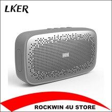 LKER Wireless Best Bluetooth Speaker IPX 7 Waterproof Portable Outdoor Mini Box Loudspeaker Speaker Design for iPhone Xiaomi