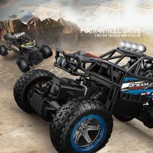 1/14 4WD 2.4Ghz RC Electric Trucks Toys Monster Buggy Off-Road Car Vehicle with LED Kids Toy Off Road RC Car Wheel Boys Toys rc cars monster pickup trucks 6 wheel off road rock crawler racing car big foot buggy model electronic toys for children