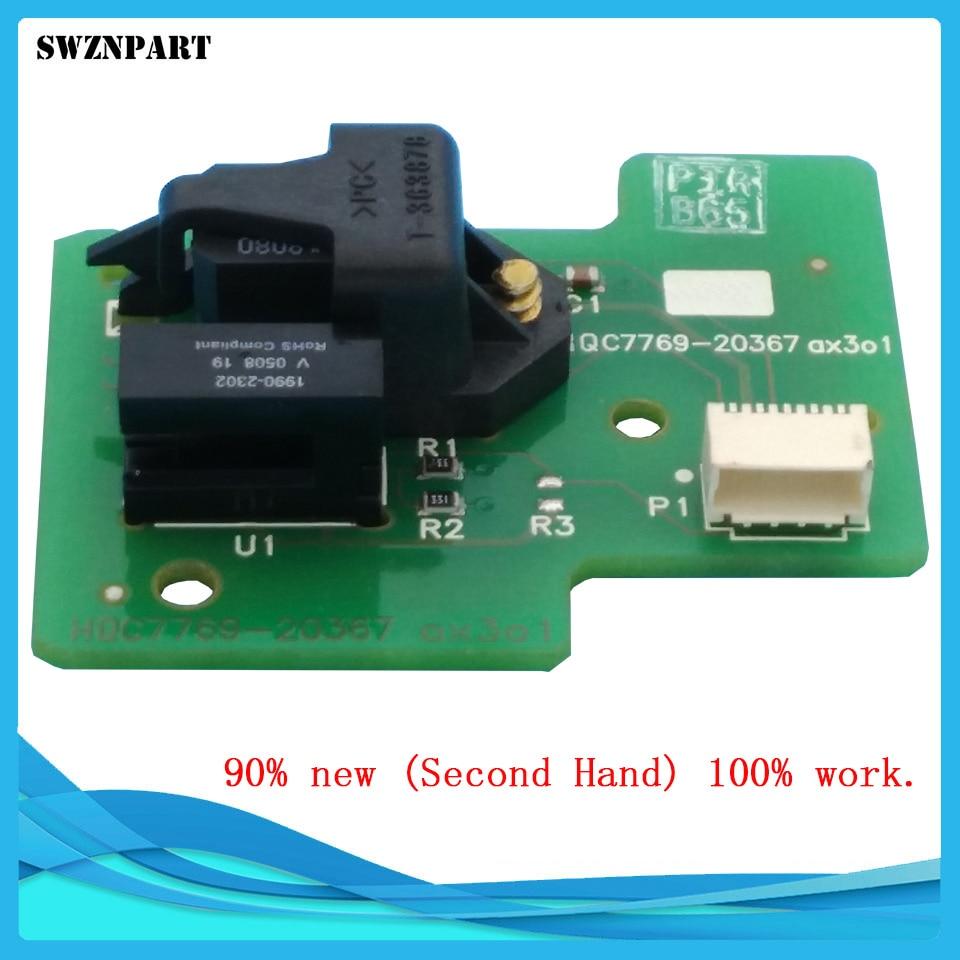 Drive roller encoder sensor For HP Designjet 500 510 800 815 820 C7769-60384 Disk Encoder sensor card Fixes 81:01 disk encoder sensor card c7769 60384 c7770 60014 designjet 500 510 800 ps fixes 81 01 newplotter parts free shipping