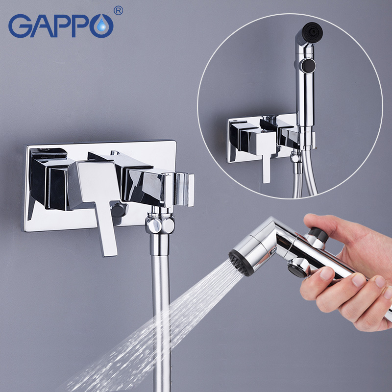 GAPPO Bidets handheld shower bidet toilet sprayer Bidet washer mixer tap muslim shower toilet wall mount Spray Shattaf gappo bidet faucets muslim shower toilet bidets sprayer hygienic shower wall mount washer mixer tap