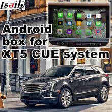 Android GPS navigation box for Cadillac XT5 etc Intellink Mylink CUE system  video interface with cast screen