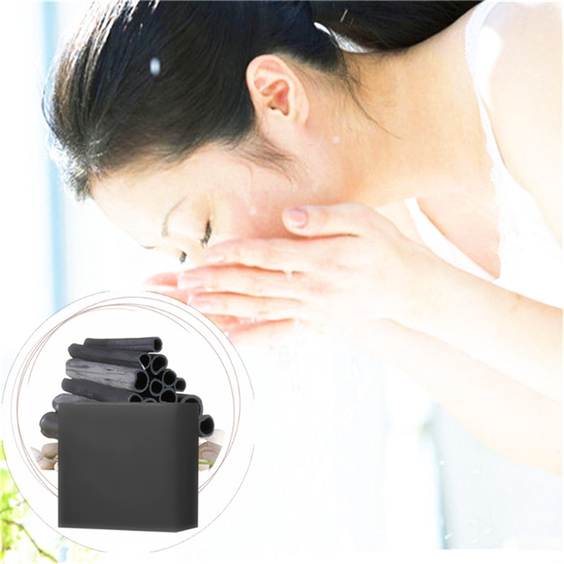 New Smooth The Skin Blackhead Remover Nose Face Washing Herbal Medicine Soap Pore Acne Treatment Deep Cleansing Handmade Soap in Soap from Beauty Health