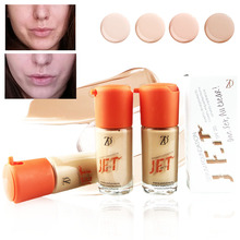 ZD 1PC Brand Makeup Face Liquid Foundation SPF20 Waterproof Whitening Primer Base BB Cream Long Lasting Moist Concealer B8011