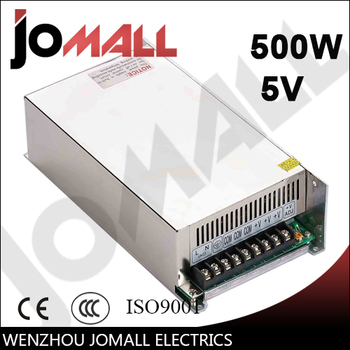 500w 5v 80a Single Output switching power supply