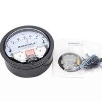 Te2000 0-60 pa micro medidor de pressão diferencial medidor de painel neutro alto tipo redondo instrumento ponteiro micromanômetro