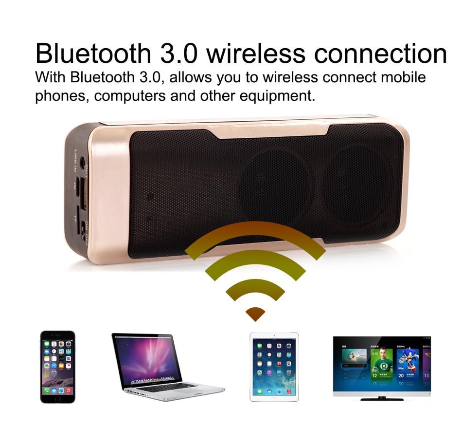 Zuczug Banco de potencia de altavoz Bluetooth portátil impermeable - Audio y video portátil - foto 4