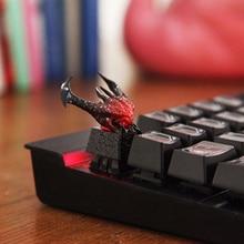 Al Diablos подсветка смолы ключ крышка для вишневого переключателя механическая клавиатура крышка DIY игровая клавиатура Темный демон с розничной коробкой