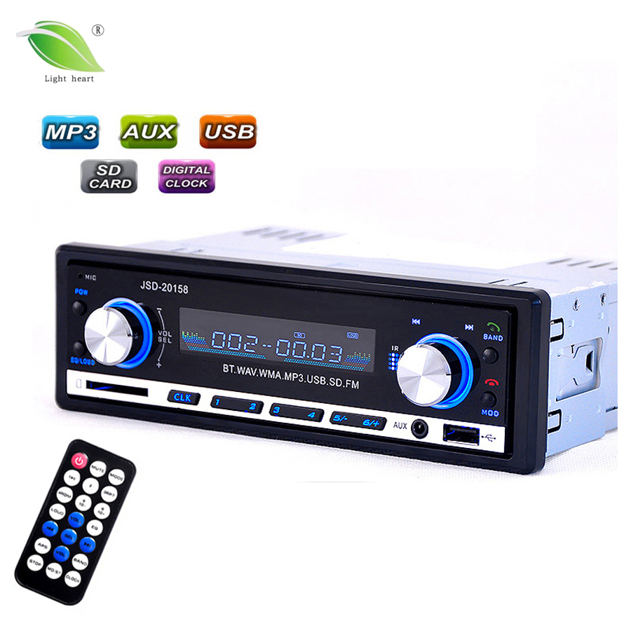 buy car radio usb bluetooth v2 0 autoradio jsd 20158 car stereo audio in dash. Black Bedroom Furniture Sets. Home Design Ideas