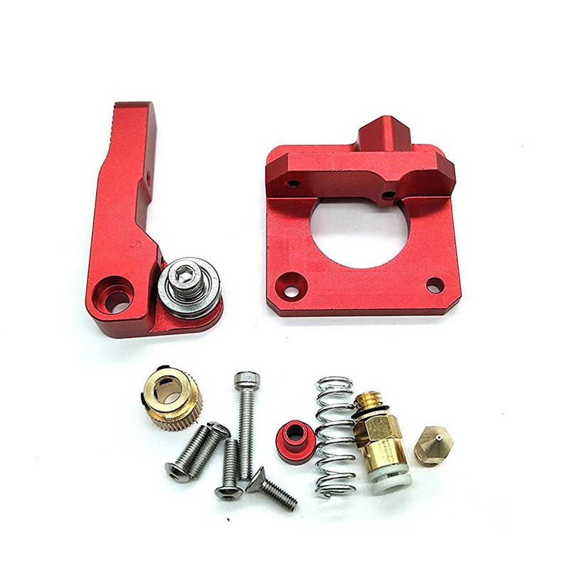 CR-10 Extruder Upgraded Replacement, Aluminum MK8 Drive Feed 3D Printer Extruders for Creality CR-10, CR-10S, S4,