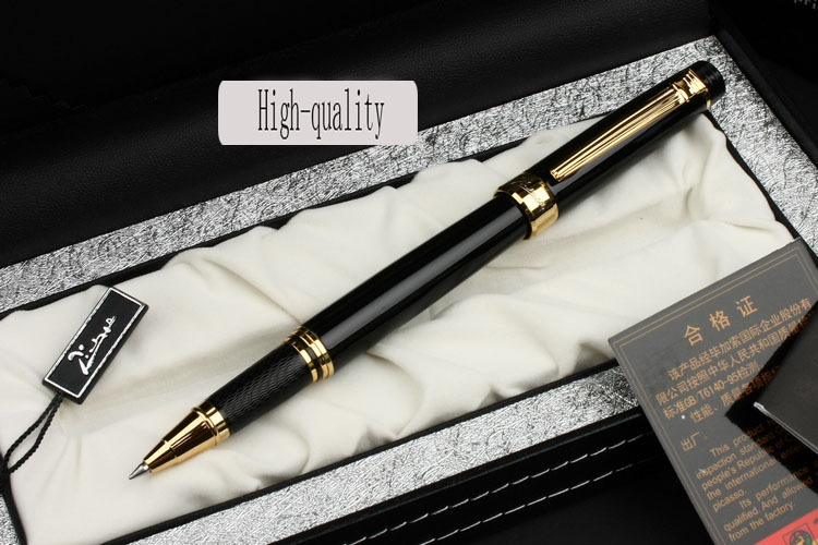 black Picasso 917 Ballpoint Pen and gift box high quality Office and school Writing Supplies gel business gift free shipping creative business gift holiday gift pen writing pen gorgeous high end gift signature pen cute lady writing pen