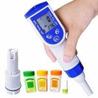 Цифровая ручка тестер PH EC TDS солености Температура качества воды 6 в 1 метр