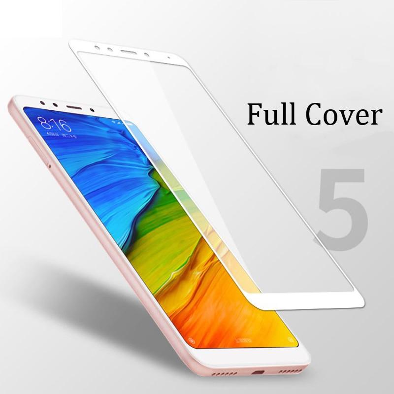 For xiaomi redmi 5 glass tempered screen protector ultra thin 5.7 redmi5 screen gl (1)