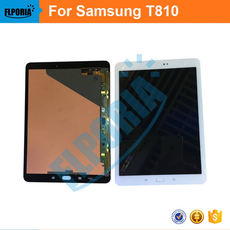For Samsung Galaxy Tab S2 9.7 Inch T810 T815 New Full LCD Display Panel +Touch Screen Digitizer Glass Assembly 100% test New for samsung galaxy tab 4 7 0 sm t230 t230 full lcd display panel black touch screen digitizer glass assembly replacement