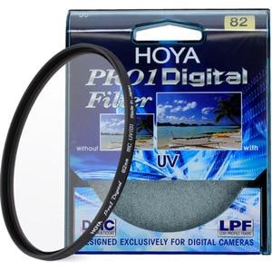 Image 2 - HOYA PRO1 דיגיטלי DMC UV מסנן עדשת המצלמה UV מגן מסנן 37 40.5 58 67mm 72mm 77mm 82mm 46mm 49mm 52mm 55mm UV מסנן