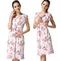 MamaLove Vestidos de lactancia materna ropa De Enfermería Vestido De Maternidad ropa De Maternidad para las mujeres embarazadas