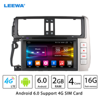 8 Android 6 0 64bit DDR3 2G 16G 4G LTE Quad Core Car DVD GPS Radio