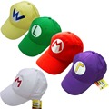 1 Piece Game Super Mario Bros Luigi Baseball Hat Adjustable Summer Embroidery Cap Cosplay 5 Colors