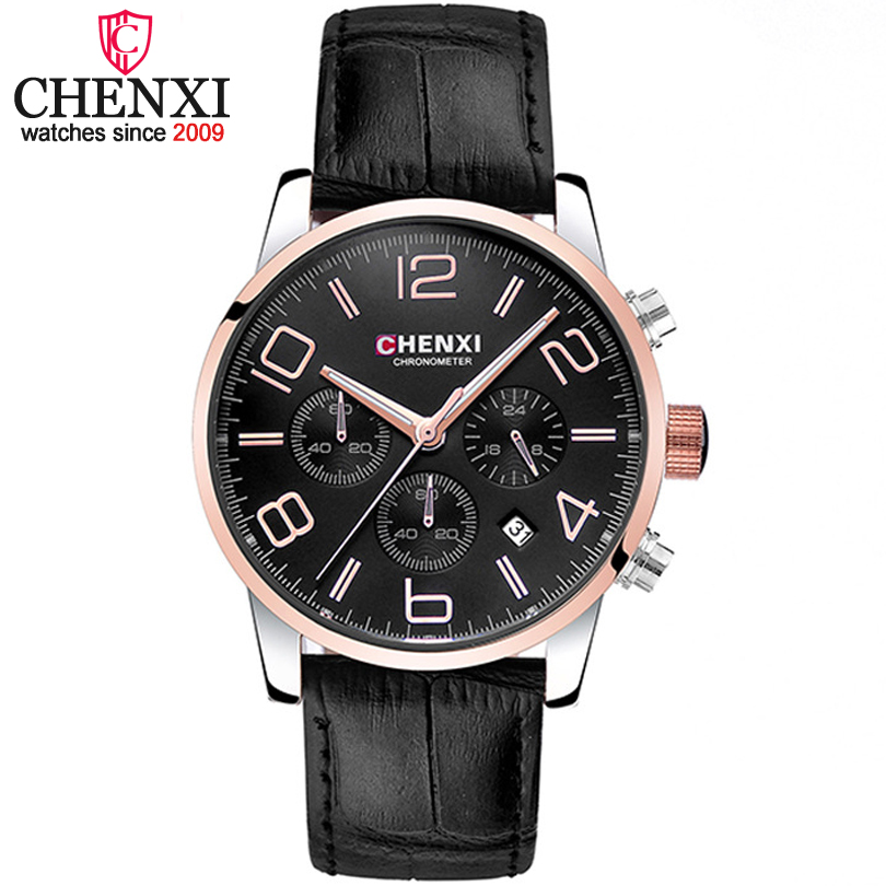CHENXI relogio masculino Luxury Brand Analog sport Wristwatch Calendar Men s Quartz Watch Business Watches Men