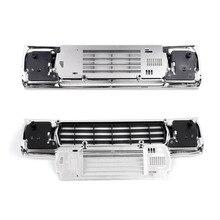 MASiKEN pour GRC TRX4 BRONCO acier inoxydable radiateur grille plaque de décoration en métal pour Traxxas TRX 4 BRONCO RC pièces de voiture