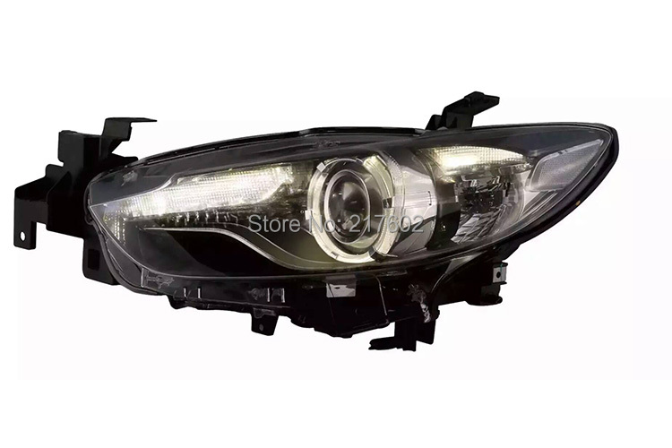 for <font><b>Mazda</b></font> <font><b>6</b></font> ATENZA Projector <font><b>Headlights</b></font> V3 type Compatiable for the Halo type to upgrade to HID <font><b>xenon</b></font> type <font><b>headlights</b></font> LD image