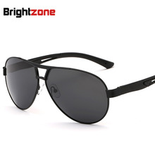 New Pattern Man Polarized Light Sunglasses Will Frame Sunglasses Aluminum Magnesium Alloy Sun Glasses oculos de sol gafas