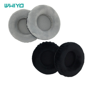 Whiyo 1 Pair of Velvet Ear Pads for Isk HD9999 Headphones Cushion Cover Earpads Replacement Parts ear pads replacement cover for creative sound blaster tactic 3d sigma tactic360 headphones earmuffes headphone cushion