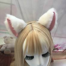 Cat Ears Hairpin 2017 Cosplay Halloween Party Anime Costume Cos Fox Clip Club