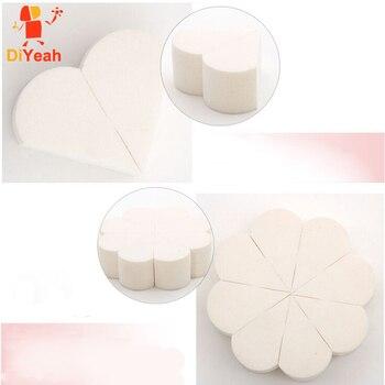 1 Set Petal Makeup Sponge Cosmetic Puff Beauty Water Droplets Blending Sponge esponja maquiagem eponge Powder Puff Flower Drop
