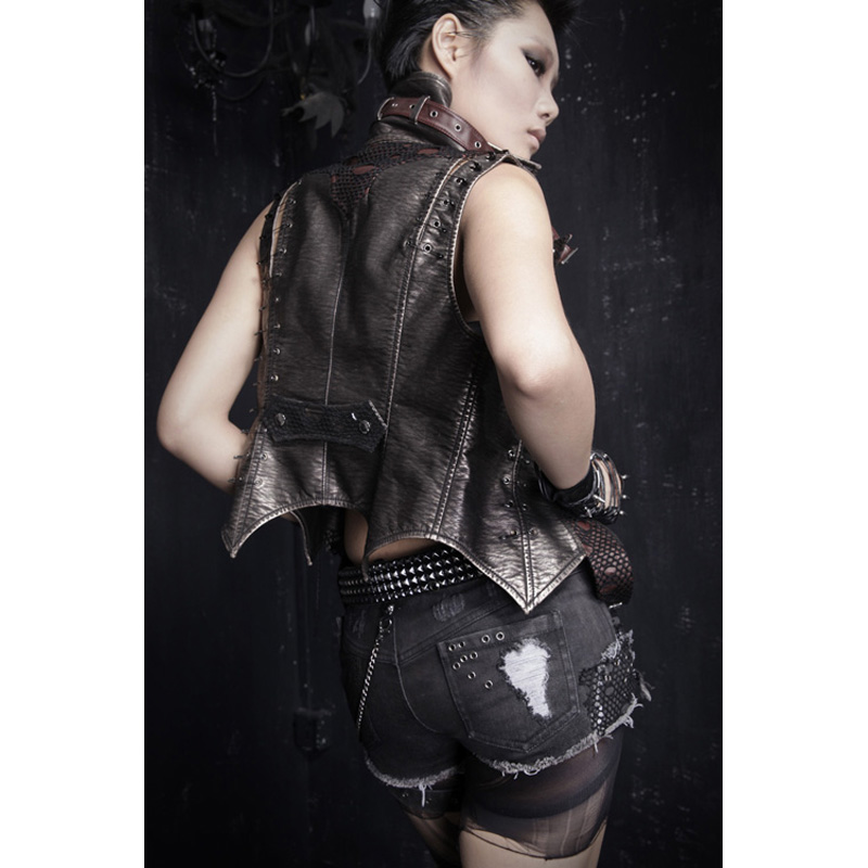 Punk Rave Rock Hot Shorts Visual Kei Cotton Heavy Metal Chain Jeans short pants S 3XL K127-in Shorts from Women's Clothing    3