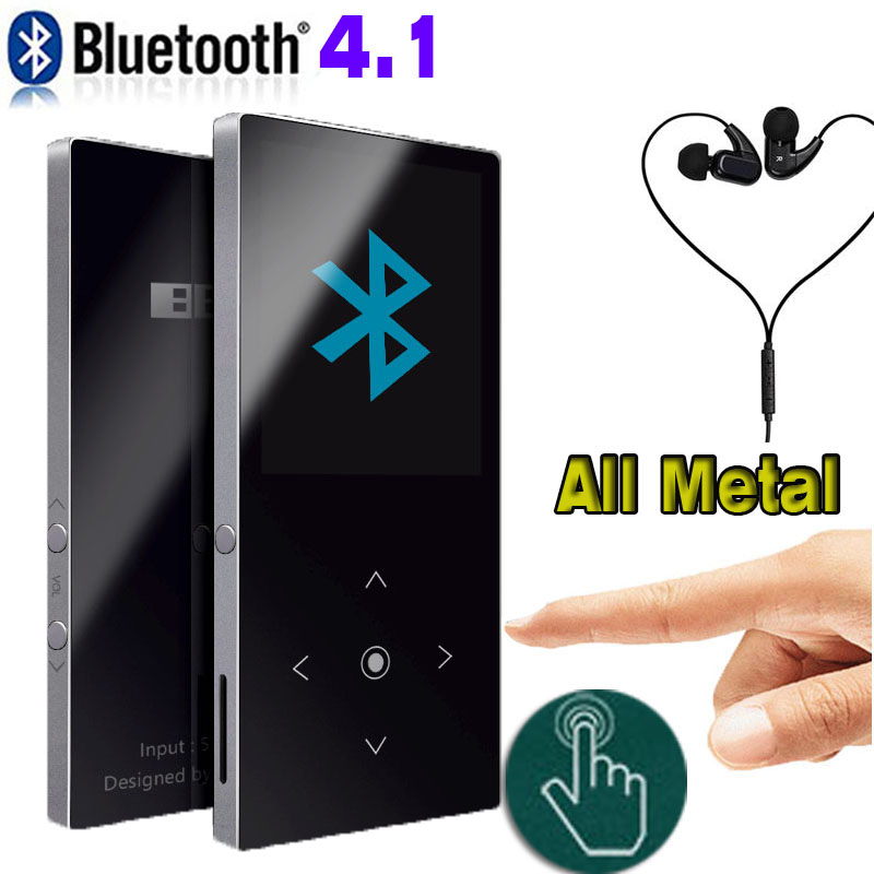 Bluetooth mp3 player Touch Screen BENJIE K8 Ultra thin 8GB Music Player 1.8 Inch Color Screen Lossless HiFi Sound with FM Radio benjie hifi music player 8g mp3 music player metal player 2 4 inch tft screen support 128g tf card recording 24 menu languages