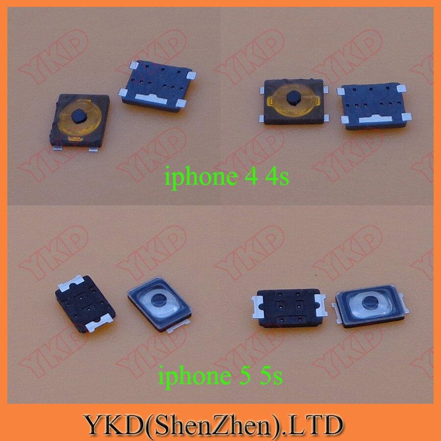 imágenes para Botón de encendido interruptor top inner on off contacto botón para iphone 5 4s 4g 5c 5S 50 unids 50 unids