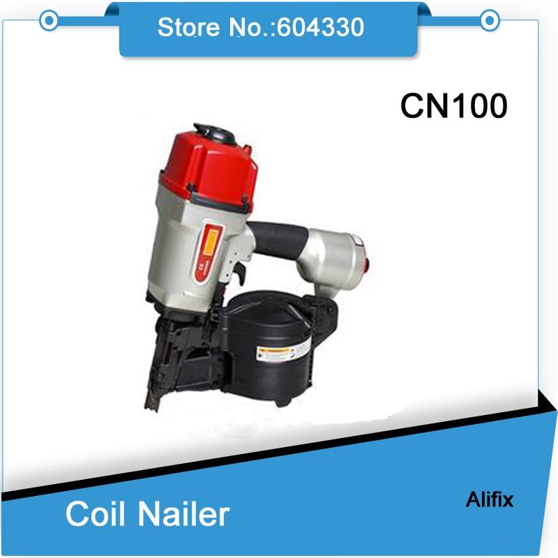 CN100 spule nagelpistolen luftpistole Industrielle Palette luftnagler MAX design, hohe qualität-in Bolzenschussgeräte aus Werkzeug bei AliExpress - 11.11_Doppel-11Tag der Singles 1