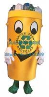 Recycle can костюм талисмана для защиты окружающей среды для взрослых тема аниме отходы пепельница cosply Костюмы Карнавальная Фантазия платье 2853