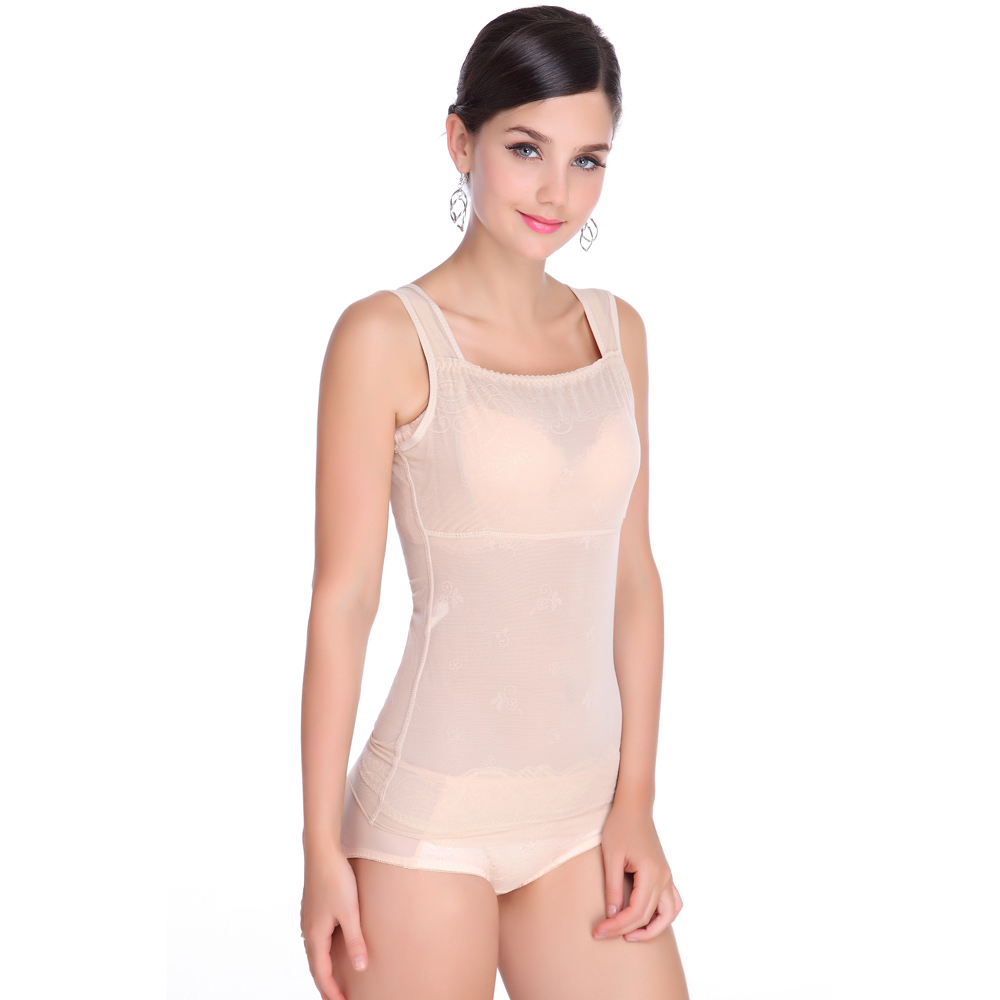 978e5e663d Gzdl womens shapewear corset style underbust belly tummy control tops cami  vest body shapers underwear waist